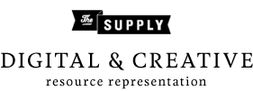 The Supply - Creative + Digital Resource Representation